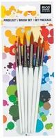 Rico 07249.00.11 Penselenset ronde synthetische penselen set 6 penselen