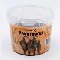 Paversand Zwart (grof) 1 kilo