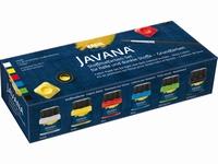 Javana textielverfset voor lichte en donkere stoffen 90598 set 6x20ml