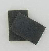 Schuurspons voor poppen grof 81-043-021 (grijs) ca.12x8cm
