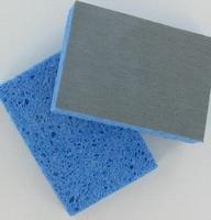 Schuurspons voor poppen extra-fijn 81-043-020 (blauw) ca.12x8cm