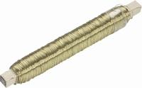 Wikkeldraad 0,5mm goudkleurig KP216470301