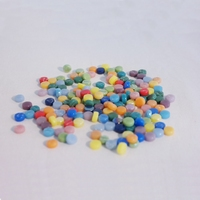 Glasmozaiek Colourful Dots mix 75gram 1011087 Fruit Cocktail