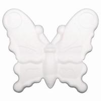 Styropor Vlinder plat (Bov.) NIEUW