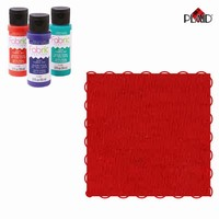Fabric Creations Ink Poppy (rood) 25977  59ml/2oz