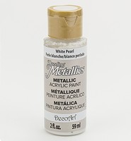 Americana DA117 Dazzling Metallics White Pearl  59ml/2oz