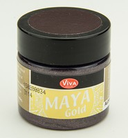 Viva Decor Maya Gold 1232.502.34 Aubergine 50ml