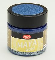 Viva Decor Maya Gold 1232.600.34 Blau