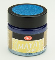 Viva Decor Maya Gold 1232.601.34 Mittel Blau 50ml