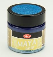 Viva Decor Maya Gold 1232.601.34 Mittel Blau