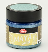 Viva Decor Maya Gold 1232.603.34 Eisblau 50ml