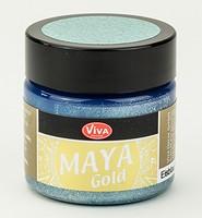 Viva Decor Maya Gold 1232.603.34 Eisblau