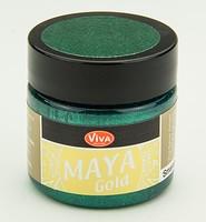 Viva Decor Maya Gold 1232.701.34 Smaragd 50ml