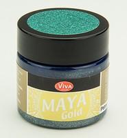 Viva Decor Maya Gold 1232.704.34 Petrol