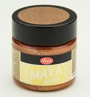 Viva Decor Maya Gold 1232.906.34 Orange Gold