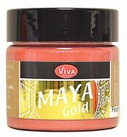 Viva Decor Maya Gold 1232.910.34 Kupfer