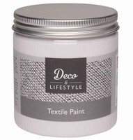 Deco&Lifestyle Textile Paint 24301 Cotton White 230ml