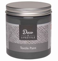 Deco&Lifestyle Textile Paint 24302 Soft Black 230ml
