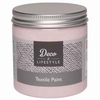 Deco&Lifestyle Textile Paint 24303 Blossom (roze) 230ml