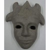 Papier-mache/Paper Shape Masker Azteken DH790283