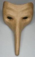 Papier-mache/Paper Shape Masker Lange neus DH790281-004