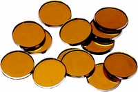 Deco spiegeltjes Oranje 218022072 Knorr Prandell 1,8cm/48stuks