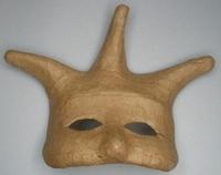 Papier-mache/Paper Shape Masker Clown/Nar DH790281-005