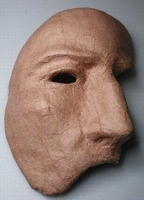 Papier-mache Masker, Phantom off the Opera DH70281-006