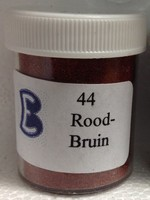Gekleurd zand 44 Rood Bruin