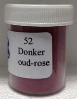 Gekleurd zand 52 Donker Oud-rose