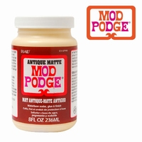 Mod Podge CS12948 Antique matte sealer, glue, finish