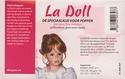 La Doll witte (cremekleurig) zelfhardende poppenklei 500gram