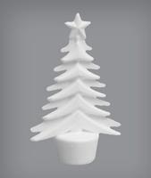 Styropor Kerstboom klein BOV.OAPALN 15x9cm
