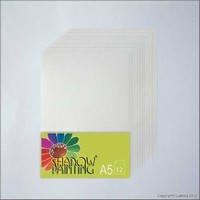 Shadowpainting papier SP0102 A5-12vel