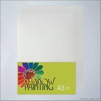 Shadowpainting papier SP0103 A3-6vel
