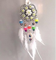 H&C Fun 12415-0041 Dream Catcher sieraad set  White complete set