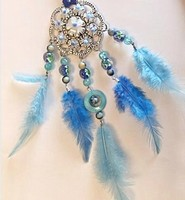 H&C Fun 12415-0043 Dream Catcher sieraad set  Blue