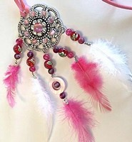 H&C Fun 12415-0045 Dream Catcher sieraad set Pink complete set