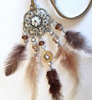 H&C Fun 12415-0049 Dream Catcher sieraad set Brown complete set