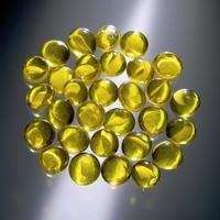 Glorex Glasnuggets ca.20mm serie 686013-01 Geel circa 200gram