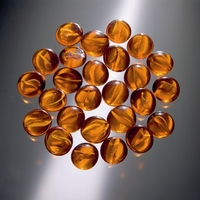 Glorex Glasnuggets ca. 20mm serie 686013-02 Oranje circa 200gram