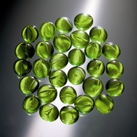 Glorex Glasnuggets ca. 20mm serie 686013-07 Groen circa 200gram