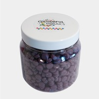 Glasmozaiek Colourful Dots 500gram 1012114 Paars