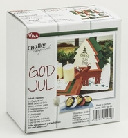 Viva Decor set 8001.560.64 Chalky Vintage look God Jul/Kerst