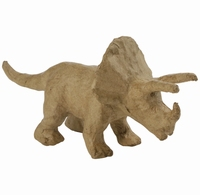 Decopatch AP155 papier mache Dinosaurus Triceratops ca.9cm 19x9x7cm