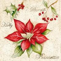 Servetten Ambiente 1330_3780 Poinsettia kerstster
