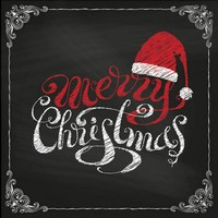 Servetten Ambiente 111330_4750 Merry Christmas 33x33cm/5stuks