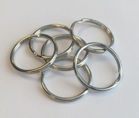 H&C Fun 12335-3506/10 Key rings platinum 25mm