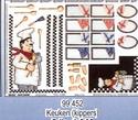 Soft papier Keuken kippers special OP=OP 50 x 70 cm