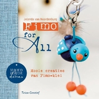 Boek: Fimo for All, Jolanda van Noordenburg/Hand made Divas
